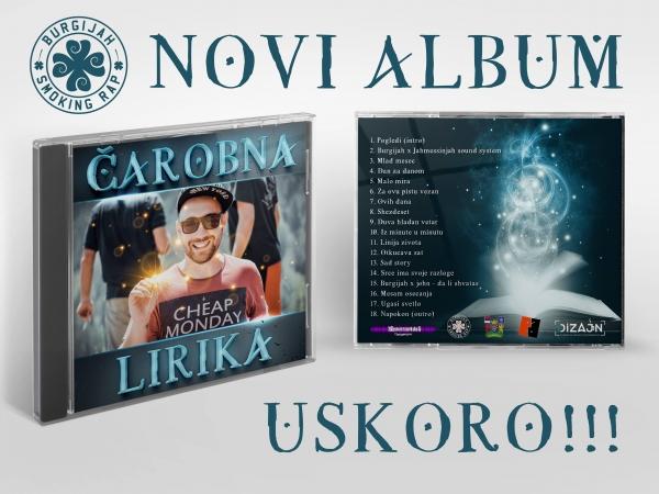 """""""Čarobna lirika"""", novi album Ivana Burgijaha Tomaševića"""