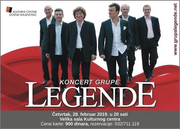 """Koncert grupe """"Legende"""""""