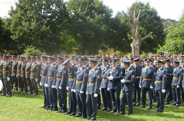 U ustaničkom Takovu juče promovisana najmlađa klasa podoficira Vojske Srbije