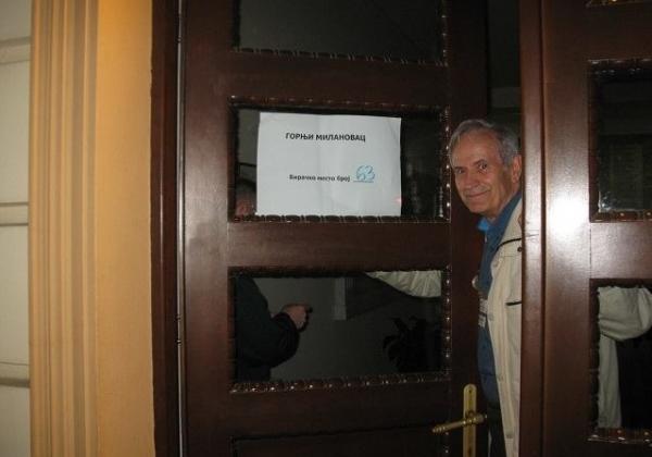 Zatvorena biračka mesta u Gornjem Milanovcu