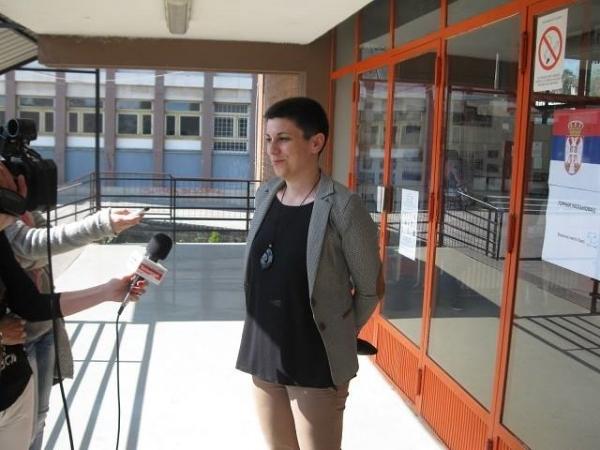 Kristina Milošević: Do 18 časova izlaznost preko pedest odsto