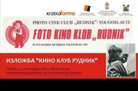 "Izložba o foto-kino klubu ""Rudnik"" sa Rudnika"