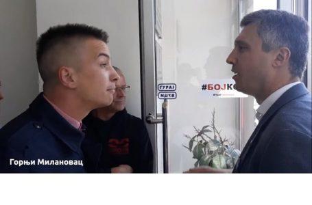 Obradović počeo kampanju bojkota u Milanovcu