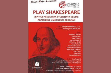 "Predstava ""Play Shakespeare"""