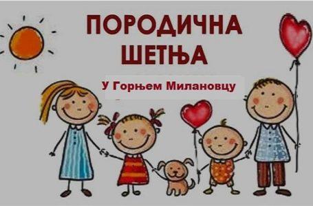 "Prva ""Porodična šetnja"" u Gornjem Milanovcu"
