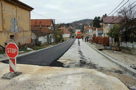 Asfaltirana Drinčićeva ulica