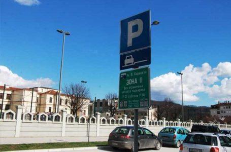 Besplatno parkiranje u gradu za Dan državnosti