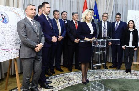 Mihajlovićeva: Moravski koridor da bude primer kako se realizuju veliki projekti u Srbiji