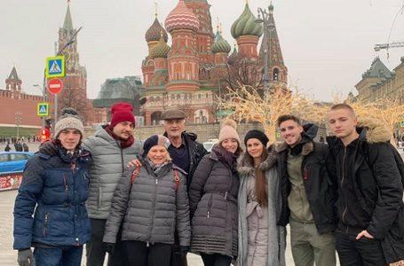 Milanovačko pozorište – povratak iz Moskve