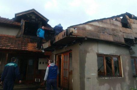 Izgoreo deo kuće i radionica od koje su Maričići živeli