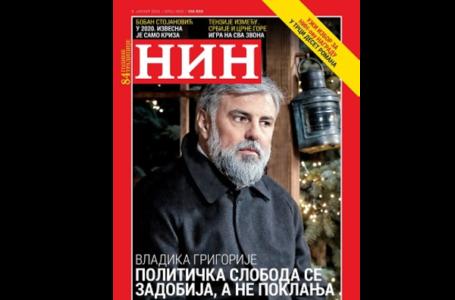 Vladika Grigorije: U Crnoj Gori se vidi šta se desi kada jedan čovek preuzme svu vlast
