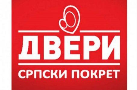 Dveri GM: Milošću i velikodošnošću lokalne vlastidobili smo ombudsmana i komunalnu miliciju