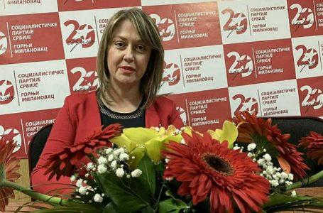 Izabrana predsednica Foruma žena OO SPS G. Milanovac Slavica Mihajlović