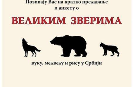 Muzej: Predavanje o velikim zverima