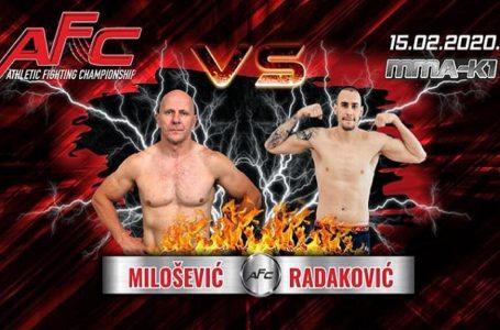 Beli sutra u oktagonu protiv Radakovića