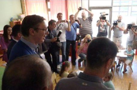 Vučić na otvaranju II osnovne škole?