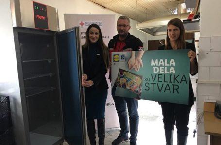 Lidl donirao rashladni uređaj Narodnoj kuhinji u Gornjem Milanovcu