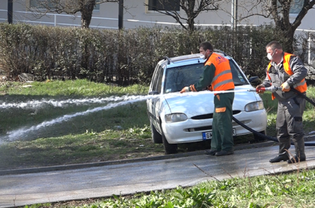 Plan pranja gradskih ulica za 19. mart
