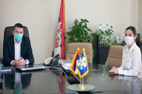 Andrijana Savić, Mis Srbije učestvuje u akcijama pomoći Milanovčanima