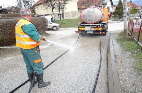 Plan pranja gradskih ulica za 17. mart