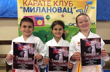 """Dve svetske medalje za karatiste """"Milanovca"""""""
