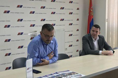 Branislav Nedimović posetio OO SNS u Gornjem Milanovcu