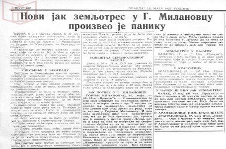 Dogodilo se na današnji dan – Razoran zemljotres na Rudniku maja 1927.