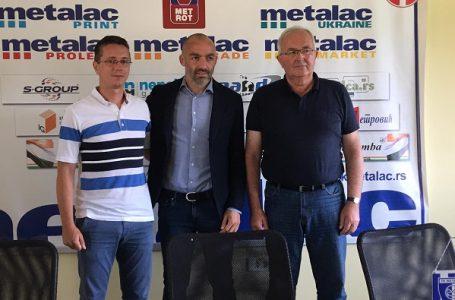 Predstavljen Žarko Lazetić novi šef stručnog štaba FK Metalac