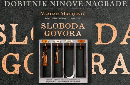 """""""Sloboda govora"""", novi roman Vladana Matijevića"""