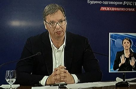 Vučić: Ispred Skupštine se desilo političko nasilje, umešan i spoljni faktor