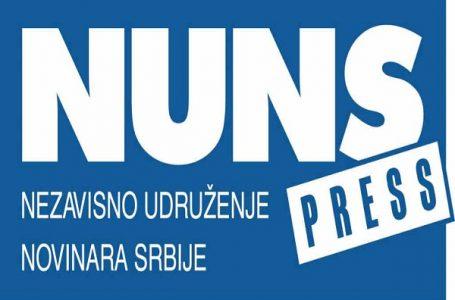 NUNS: Neprimereno ponašanje Vučića prema novinarki RTS-a i građanima