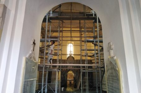 Oslikavanje Crkve Sv. Trojice u Gornjem Milanovcu