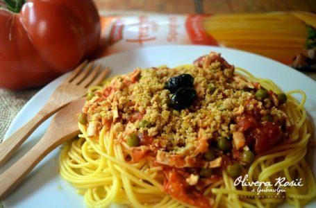 Vege recept: Gurmanske bezglutenske špagete