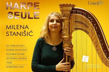 Koncert harfe: Milena Stanišić