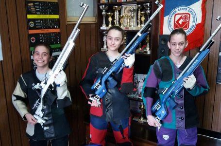 Milanovčanke Emilija i Jovana juniorske reprezentativke u streljaštvu