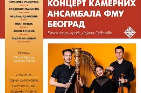Koncert kamernih ansambala FMU Beograd