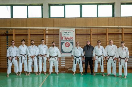 KK Takovo: Novih 10 majstora karatea