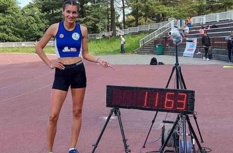 Još jedan uspeh atletičarke Ivane Ilić