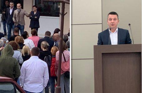 Kovačević o protestu na Rudniku: Sve će oni to zaboraviti čim prođu izbori