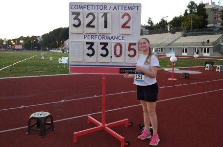 AK Takovo: Novi lični rekordi