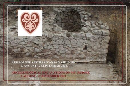 Nastavljena arheološka istraživanja na planini Rudnik