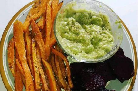 Vege recept: Pomfrit od batat krompira sa umakom od avokada