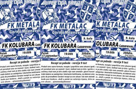 FK Metalac: Kolubara jeste za poštovanje, ali mi znamo naše kvalitete