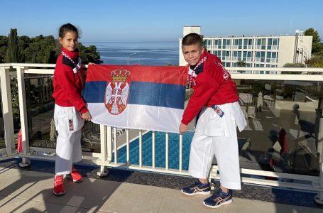 Ružica i Petar ostvarili istorijski uspeh i u G. Milanovac doneli tri zlatne medalje